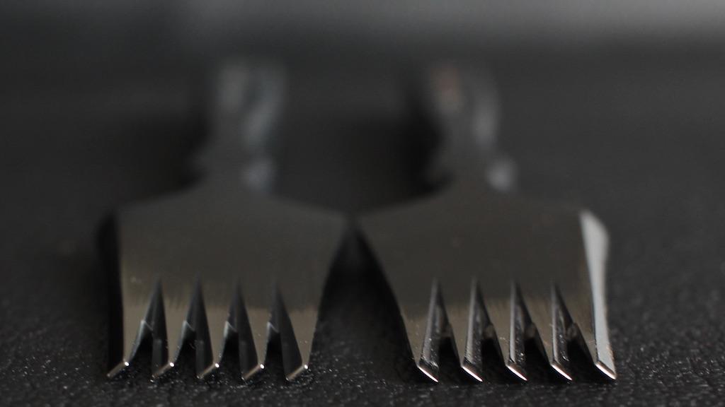 Reversed 8刃 - AmyRoke prickingiron(アミーローク ヨーロッパ逆目打ち)