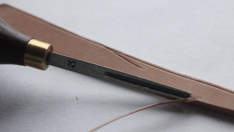 Crimson Leather Edger(クリムゾン レザーエッジャー/ヘリ落とし)
