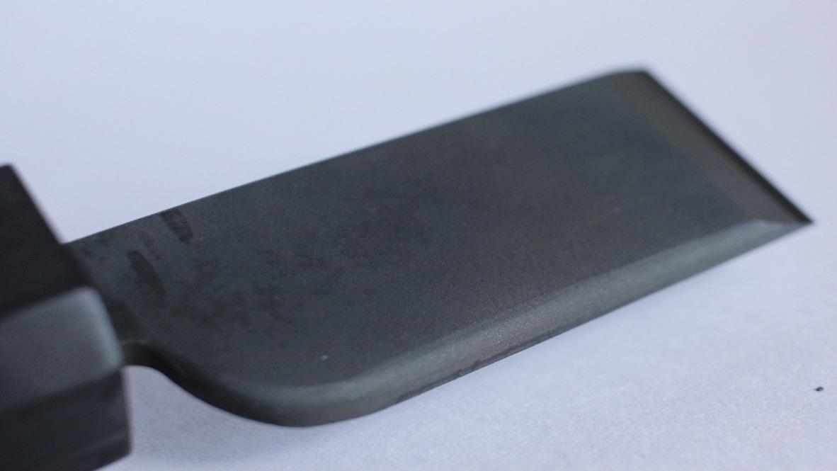 革包丁 24mm 鍛造 白紙(スネークウッド)