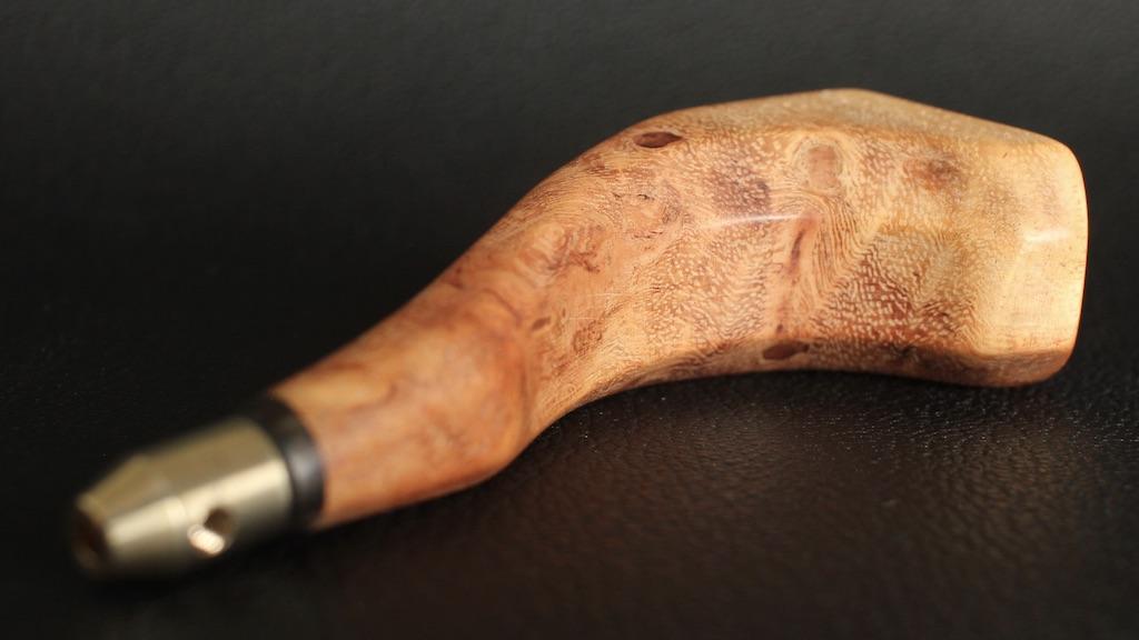花梨瘤2.5mm/ガンスタイルオウルハンドル(6Tawl,ヨーロッパオウル,菱錐,丸錐 対応)