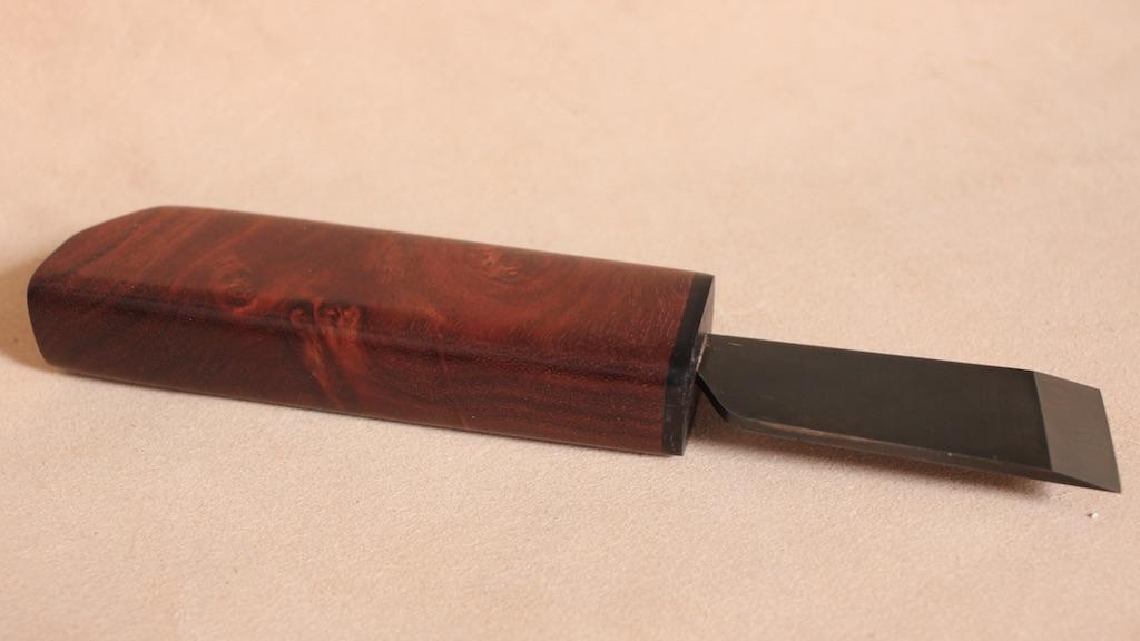 bloodwood burl/ANONYMOUS MADE 革包丁
