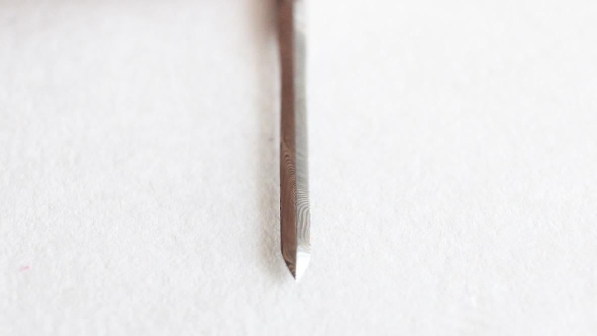 ダマスカス ダイヤモンド ブレード(菱刃)