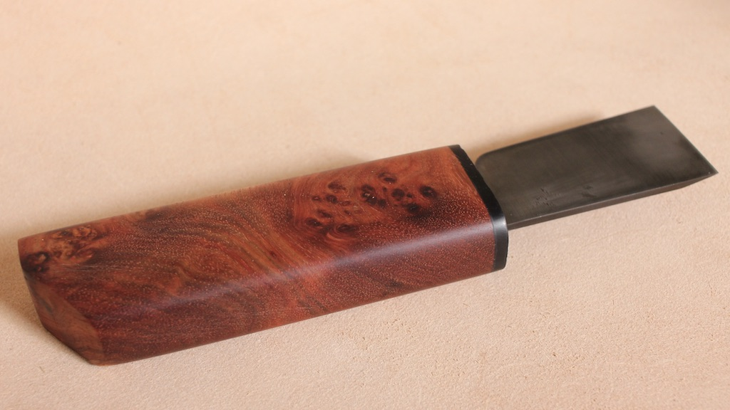 bloodwood burl/ANONYMOUS MADE 革包丁
