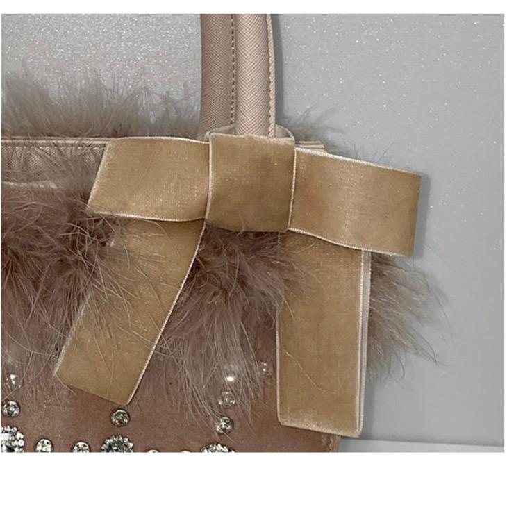 UT feather bijou BAG