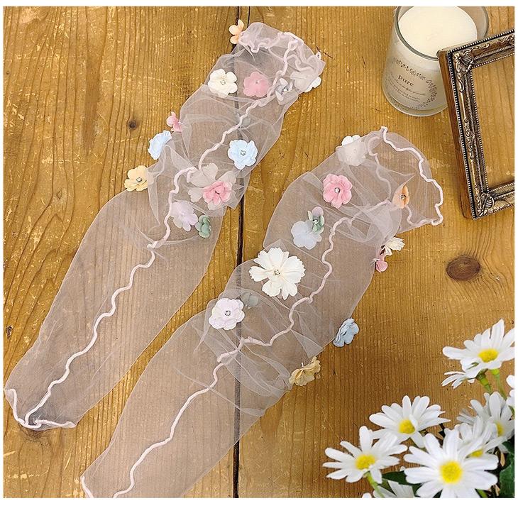 SX fleurs socks