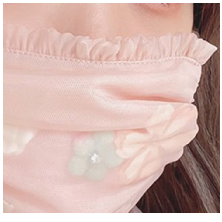 SX fleurs mask