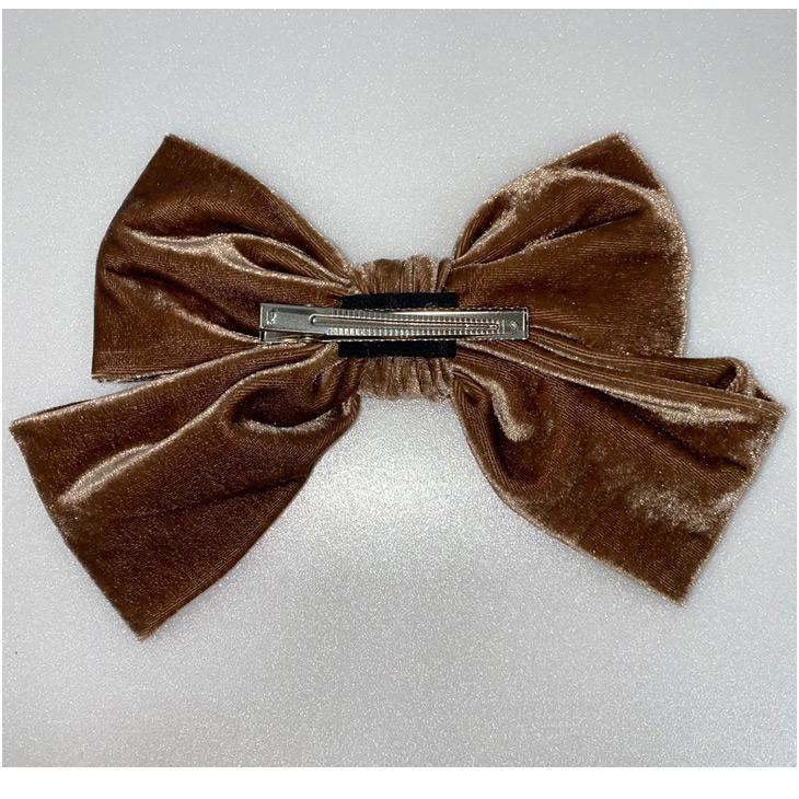 SX velour big ribbon