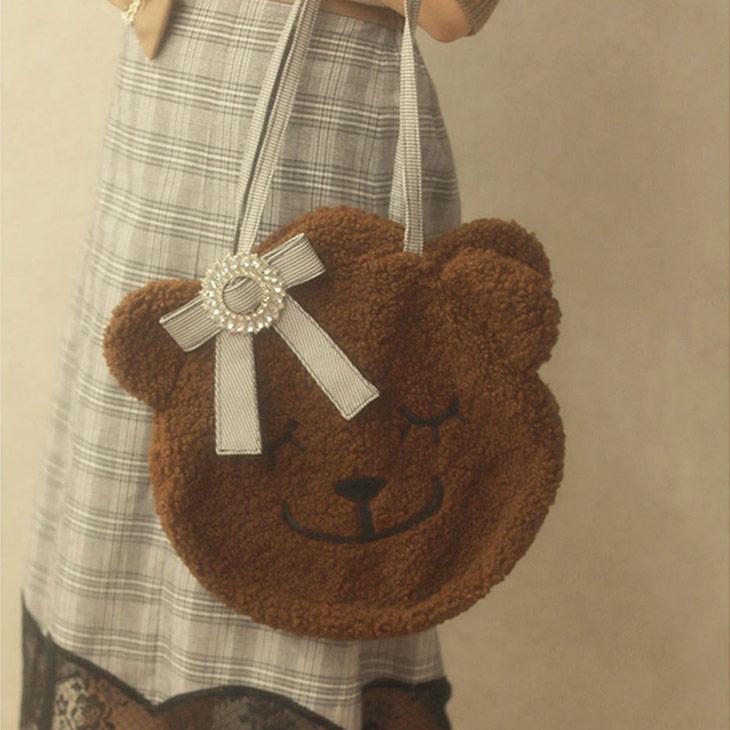 MG love teddy BAG