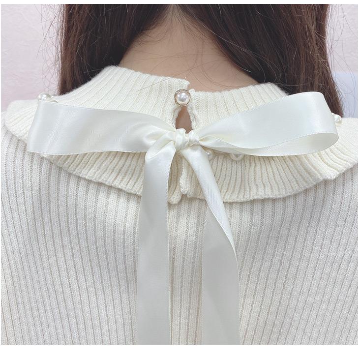 HB bijou pearl knit