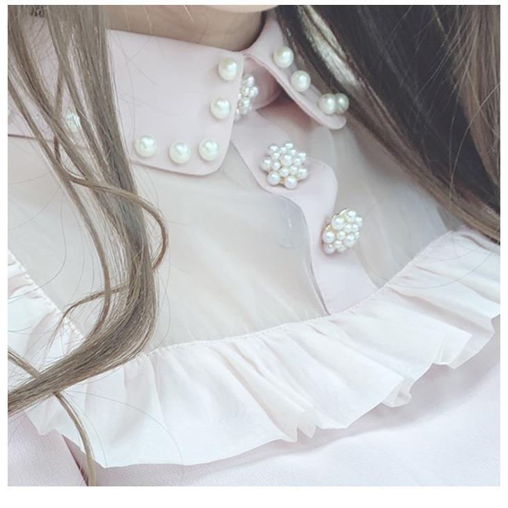 SX chiffon pearl B/L