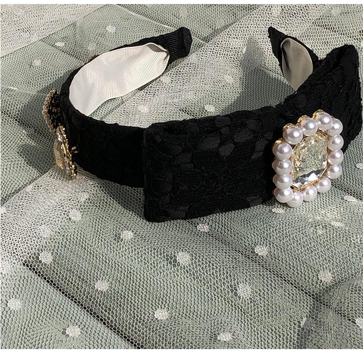 SX bijou lace カチューシャ