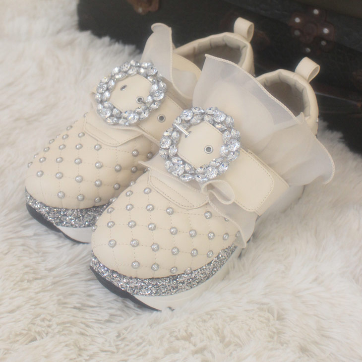 EV leather studs shoes
