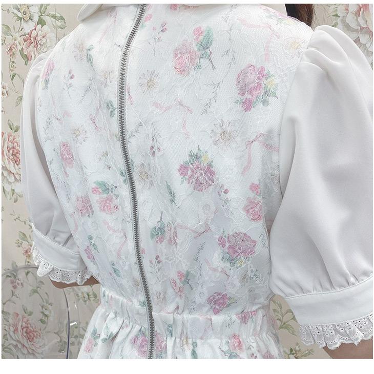 TS lacy fleur O/P