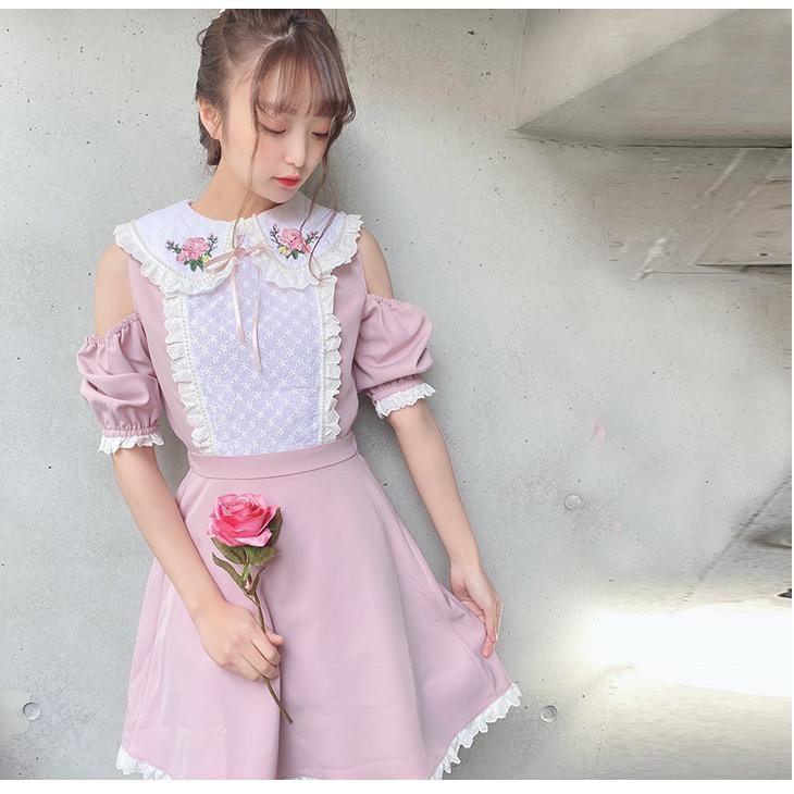 TS flower stitch O/P
