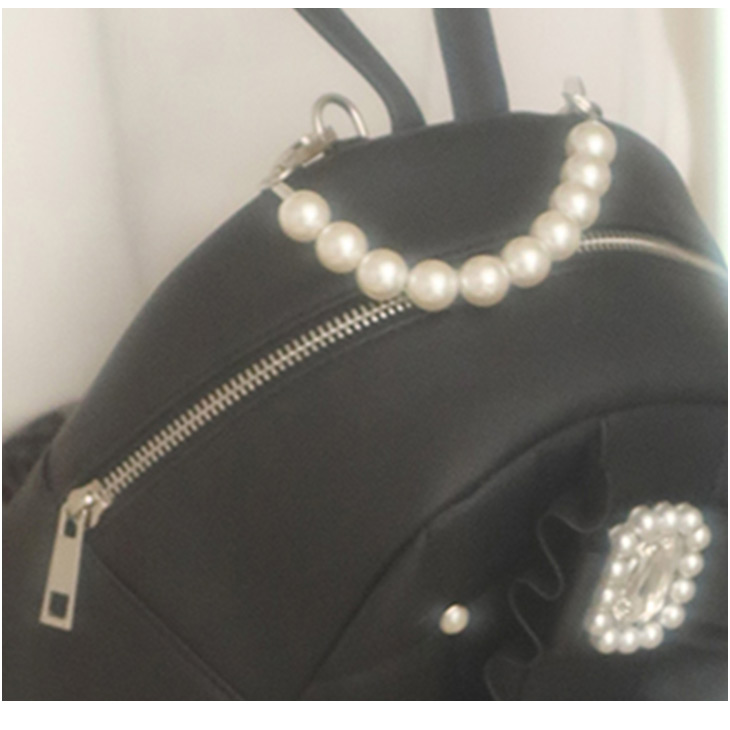 UT 3ribbon leather BAG
