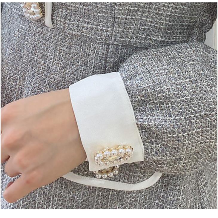 NV elegant tweed O/P