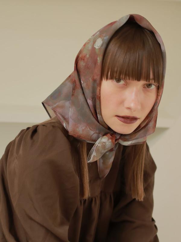 ヒメタウツクシサ scarf