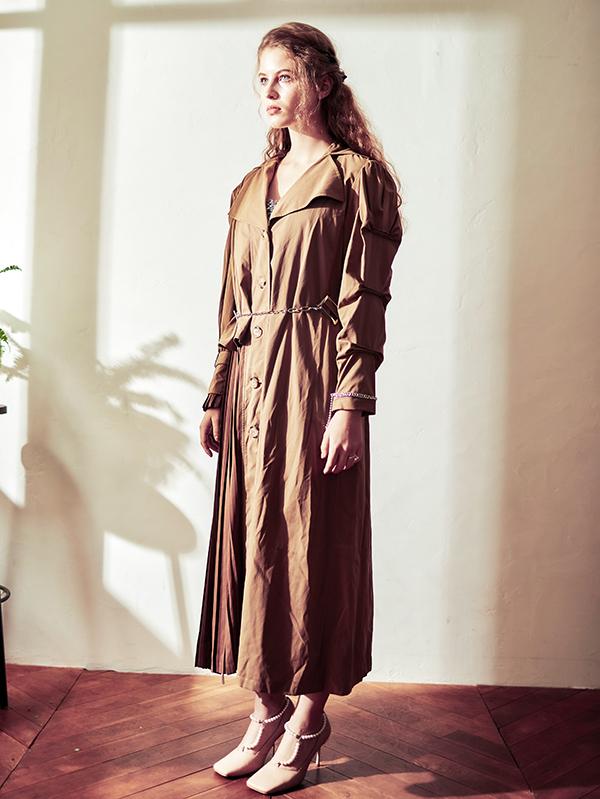 Doux trench coat