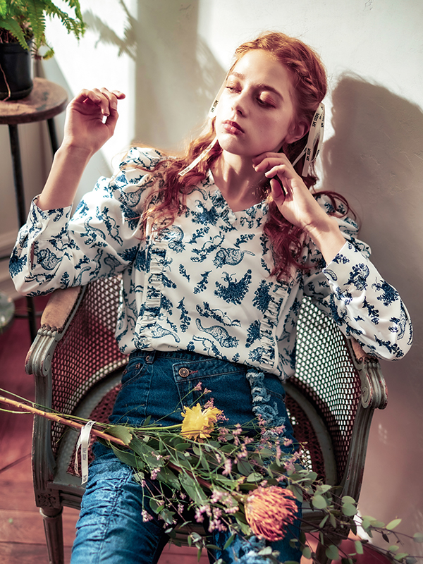 Chaton blouse