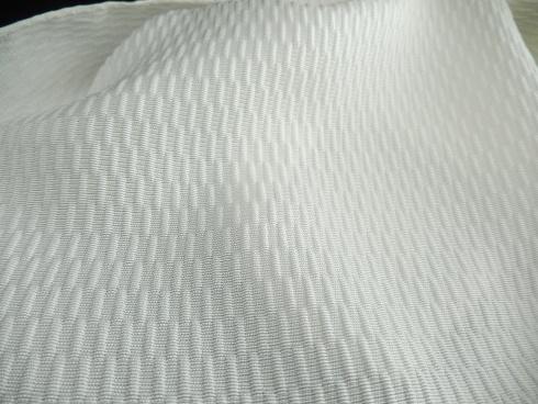 絹100% フクレブロックストール 44×160㎝ 1枚