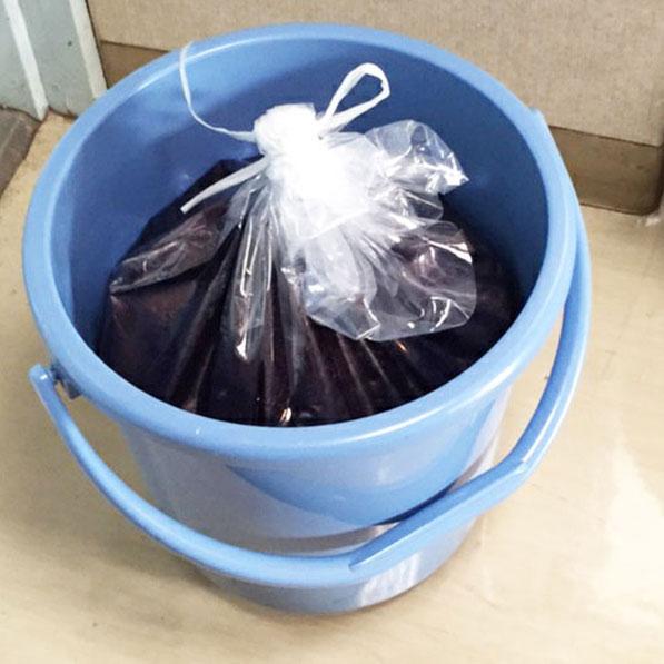 藍染液保存袋  1枚