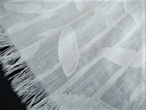 綿100%コットンリーフストールN 35×150cm 1枚