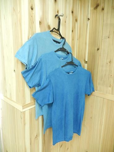 天然藍ブレンドセット&輸入Tシャツ