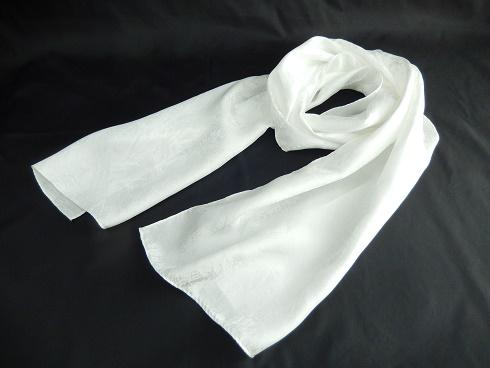 絹100% スプラッシュ模様帯揚ストール 32×160㎝ 1枚