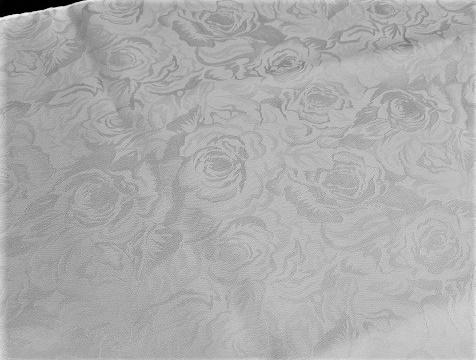 絹100% エレガントローズ帯揚ストールS 37×160cm 1枚