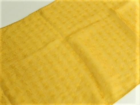 絹100% 重ねひし形プチストール 28×130cm 1枚
