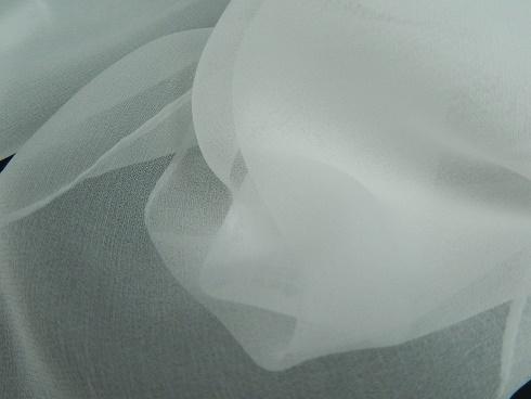 絹100% 6匁シフォンストール 44×160cm 1枚