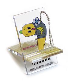 おそ松さん×ナナナ アクリルスマホスタンドキーホルダー(ナナナ)