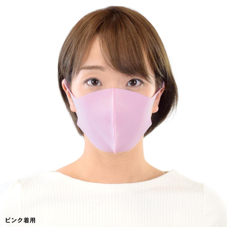 即納 8枚セット 洗えるマスク 在庫有り 立体型3Dマスク カラー 【送料pt100】