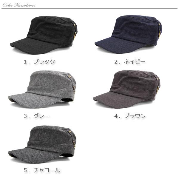 バックル ワークキャップ 【送料pt0】