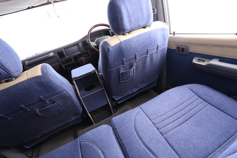 78プラド用シートカバー