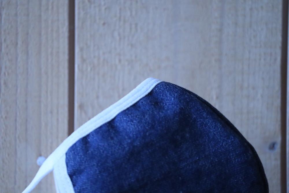 洗える布マスク 児島デニム製
