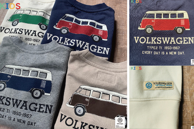 【KIDS】VW スウェットシャツ T1 BUS