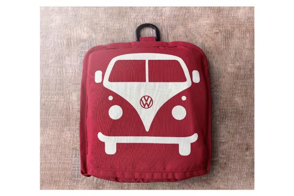 ポケッタブルツートントートバッグ ラージサイズ【VW T1 BUS】