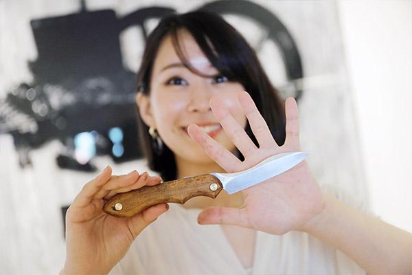 FEDECA 折畳式料理ナイフ ビルマチーク