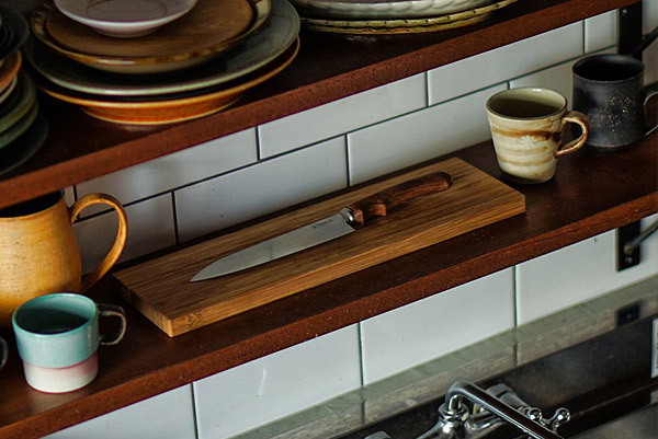 FEDECA it's myknife Santoku小 クラフトナイフ