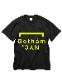 GOTHAM NYC 半袖Tee ブラック×イエロー [GN801]