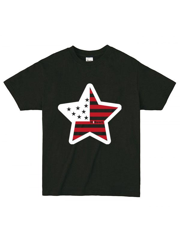 HiBowL Tee 『USA』 ブラック[Hi-tee-8-Tシャツ]