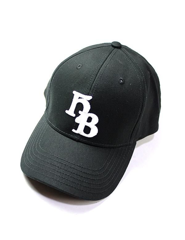 "HiBowLクラシックベースボールキャップ ""HB"" ブラック [hi-cbbc-001]"
