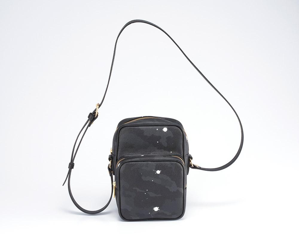 GENTIL BANDIT (ジャンティバンティ)  クロスボディバッグ ブラックカモ  [GB1990]