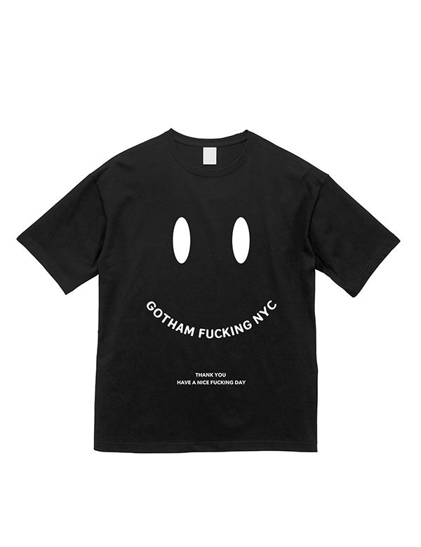 GOTHAM NYC 半袖Tee ブラック [GN605]