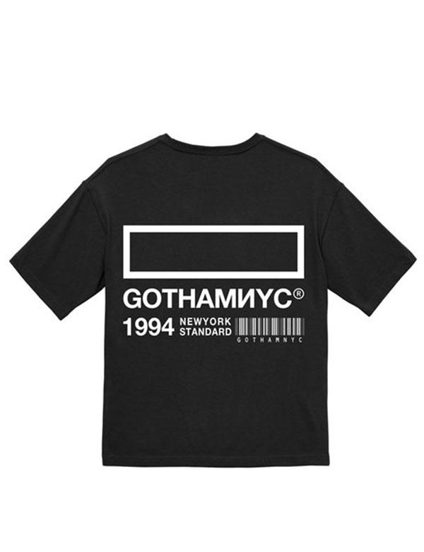 GOTHAM NYC BigTee ブラック [GN817]