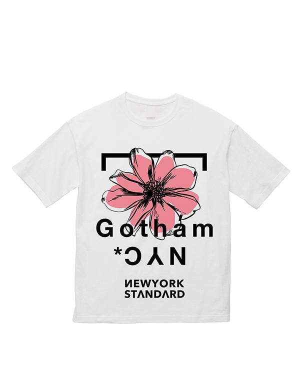 GOTHAM NYC 半袖Tee ホワイト [GN602]
