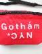 GOTHAM NYC (ニューヨーク)  ウエストバッグ RED  [GN174]