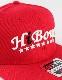 HiBowL Snap Back Cap 『Arch』 レッド[Hi-bcp-004]