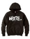 "mixte(ミクスト) Hoodie ""pt/sm""  BLACK [mix-hoodie-3]"